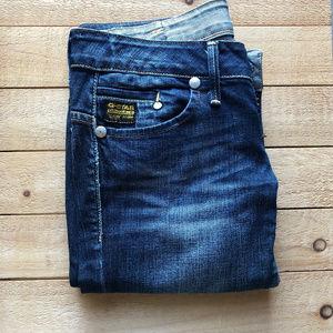 "G-Star Raw Dark Blue Skinny Jeans 28x30 - 34"" Hip"